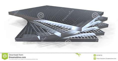 Geformtes Gitter (abflussgitter) Stock Abbildung Bild