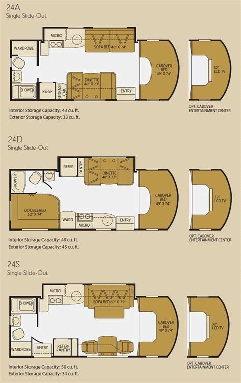 fleetwood icon class c motorhome floorplans large picture