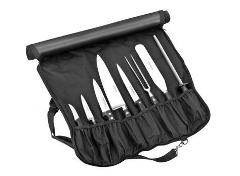 malette bargoin pour cuisinier 5 couteaux 3 ustensiles