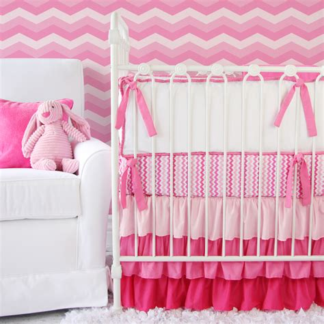 Pink Crib Bedding by Giveaway Caden Crib Bedding Set Project Nursery