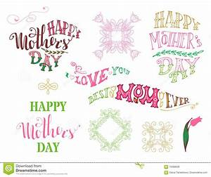 Happy Mother's Day! Best Mom Ever. I Love You. Stock ...