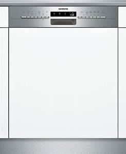 Einbau Geschirrspüler 60 Cm : siemens sn536s03me a integrierbarer einbau geschirrsp ler 60 cm breit edelstahl 14 ~ Markanthonyermac.com Haus und Dekorationen