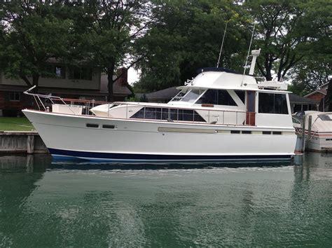Older Model Deck Boats by 1968 Chris Craft Commander Flush Deck Power Boat For Sale