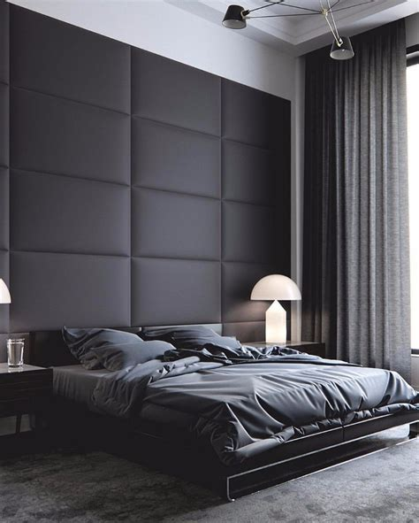 Mystery & Charm With 10 Black Bedrooms  Master Bedroom Ideas