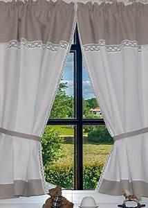 Panneaux Gardinen Landhaus : landhaus gardinen mit spitze gardinen 2018 ~ Markanthonyermac.com Haus und Dekorationen