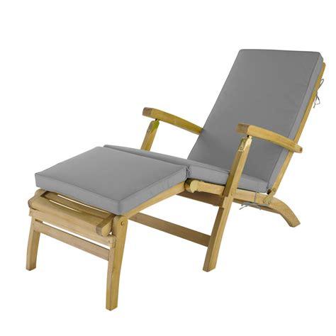 grey chaise longue mattress l 185 cm ol 233 maisons du monde