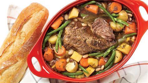 pot au feu au vin et au romarin recettes iga boeuf pommes de terre recette facile