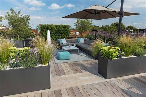 Roof Top Terrace : Bermondsey Roof Terrace Southwark In South London