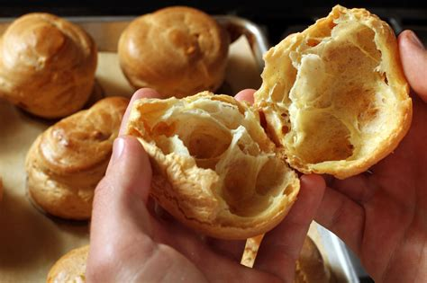 recipe pate a choux puff pastry california cookbook