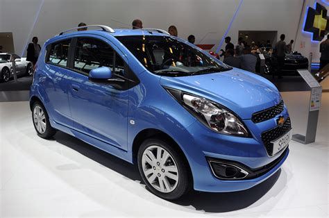 2013 Chevrolet Spark Gets Refreshed For Europe Autoblog