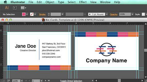 Create An Editable Pdf Business Card Design Template In 7