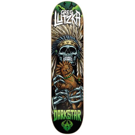 darkstar deck voodoo greg lutzka 8 25 buy fillow skate shop