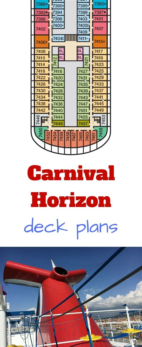 carnival horizon deck plans cruise radio