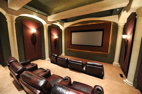 Luxury Home Media Room Design Ideas (incredible Pictures