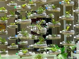 Pflanzen Bewässern Mit Plastikflasche : vorhang aus plastikflaschen und pflanzen stockfotos und lizenzfreie bilder auf ~ Markanthonyermac.com Haus und Dekorationen