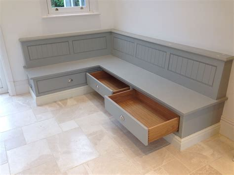 Tom Howley Bench Seat With Storage Draws