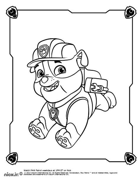 pat patrouille 22 dessins anim 233 s coloriages 224 imprimer