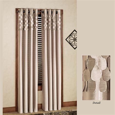 lulu semi sheer grommet curtain panels