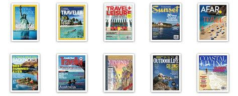 Top 10 Editor's Choice Best Travel Magazines You Must Read