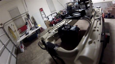 Bass Hunter Boat Modifications by Pelican Bass Raider With Modifications Youtube