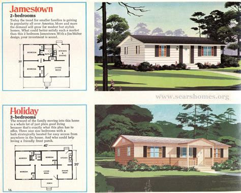 jim walter homes a peek inside the 1971 catalog sears modern homes