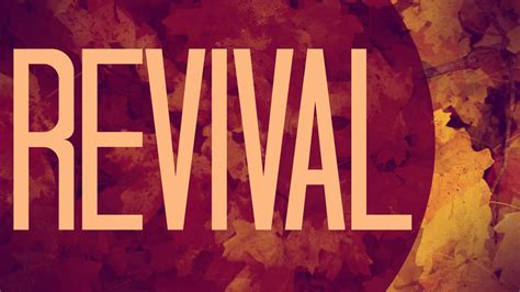 New River District Revival