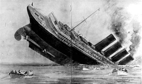 sinking of the lusitania why did the liner go