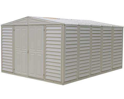 duramax 00514 00584 10 5x13 woodbridge vinyl shed base free s h duramax sheds