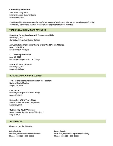 Sample Resume Format For Fresh Graduates (twopage Format. Example Of A Resume Cover Letter. Staple A Resume. Accounting Resume Examples. Resume Of Sap Fico Consultant. Executive Resume Service. Type Of Resume. Skills To List On Resume. Resume College Student Sample