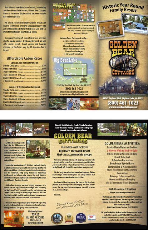 Big Bear Boat Rental Coupons by Big Bear Brochure Lodging Events Information Big Bear Lake