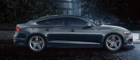 The 2018 Audi A5 Sportback Defines Athletic Sophistication