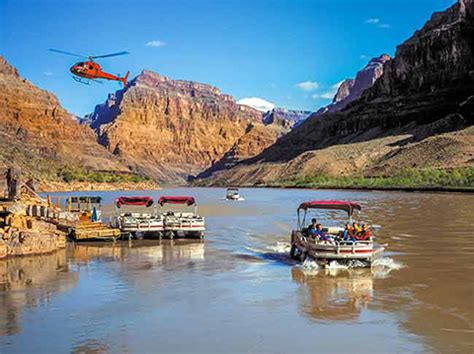 Boat Tour Grand Canyon by Grand Canyon West Rim Bus Heli Boat From Vegas