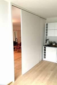 Schiebetür Wohnzimmer Küche : schiebet r k che wei ~ Markanthonyermac.com Haus und Dekorationen