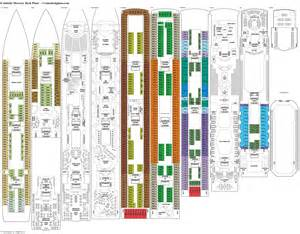16 summit deck plan carnival cruise ships deck plans carnival itinerary
