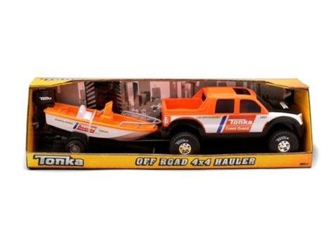 Toy Boat And Trailer Set by Off Road Hauler With Boat Trailer Kids Toys