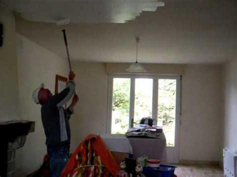 peinture au plafond