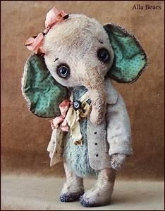 by Alla Bears original artist Mint Winter Wonderland ...