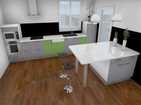 conception 3d d une cuisine avec my sketcher