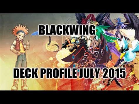 blackwing deck profile july 2015