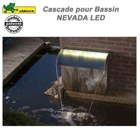 cascade de bassin de jardin ext 233 rieur nevada 60 led ubbink 1312109