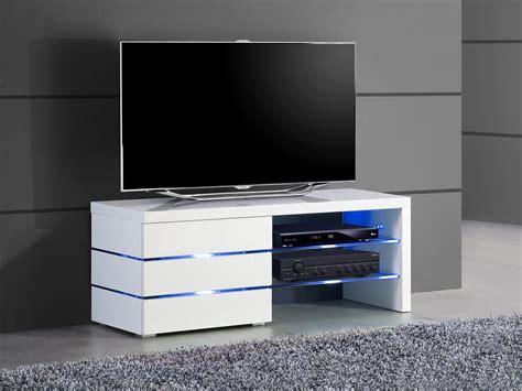 petit meuble tv blanc pas cher