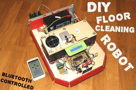 cleanbot your diy floor cleaning robot master of