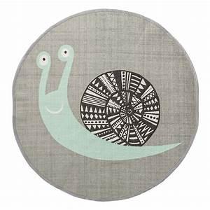 Teppich Kinderzimmer Grau : bloomingville kinderzimmer teppich 39 schnecke 39 grau mint 80cm bei fantasyroom online kaufen ~ Markanthonyermac.com Haus und Dekorationen