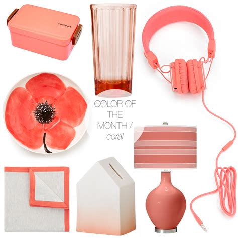 jojotastic color of the month coral