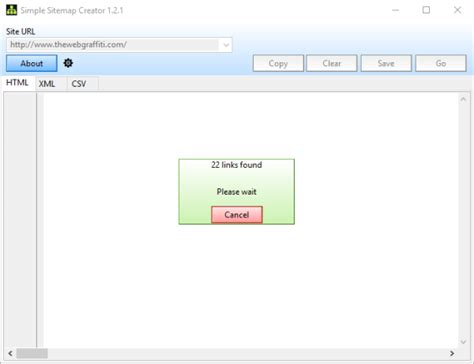Simple Sitemap Creator Is A Free Sitemap Generator