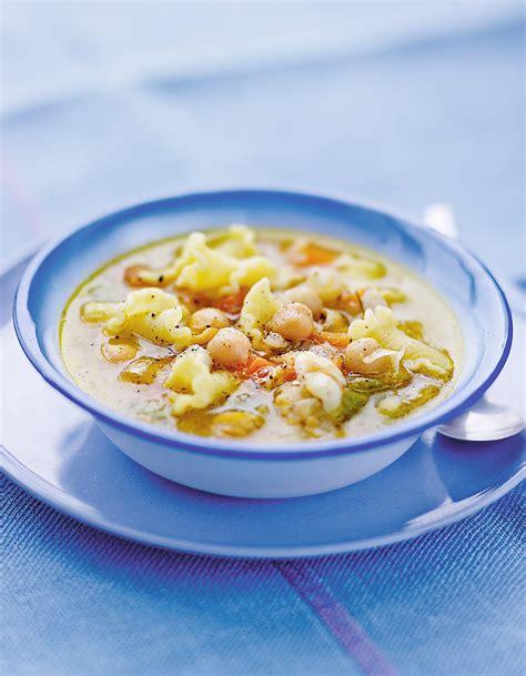 soupe aux p 226 tes et pois chiches pour 6 personnes recettes 224 table