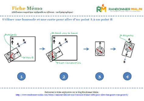 vid 233 o comment utiliser une boussole et une carte pour aller d un point a 224 un point b