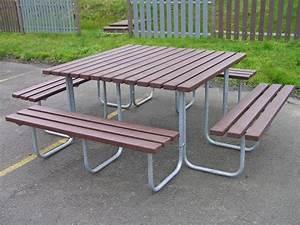 Parkbank Mit Tisch : bank tisch kombination brama aus kunststoff resorti ~ Markanthonyermac.com Haus und Dekorationen