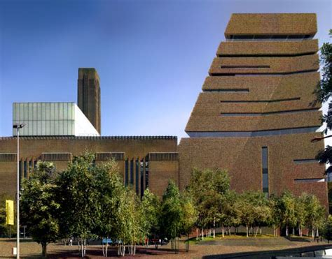 tate modern nears funding goal with 163 10m from ofer
