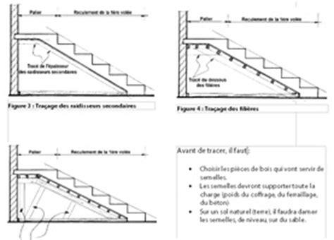 schema ferraillage escalier beton